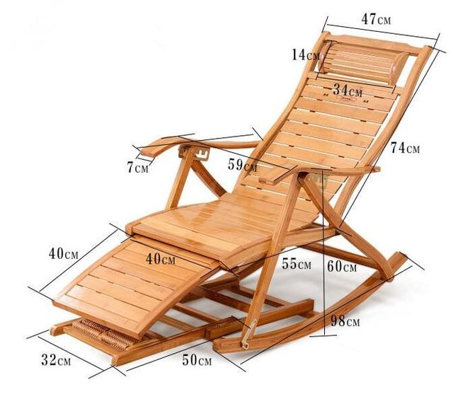 Outdoor/Indoor Reclining Rocking Chair 2