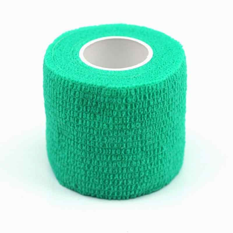 4.5 m * 5 cm Công Cụ Bảo Vệ Cơ Bắp Chăm Sóc Không Thấm Nước Tập Thể Dục Trị Liệu Bandage Băng Băng Thể Thao Đàn Hồi Physio Tape Therapeutic