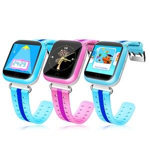 Image 3 - TWOX GPS akıllı saat Q750 Q100 gw200s akıllı bebek saati akıllı saat ile dokunmatik ekran SOS çağrı konumu cihaz Tracker Kid için güvenli PK q50