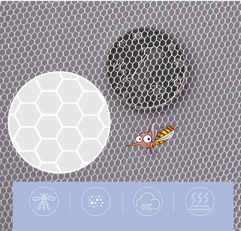 Cochecito de bebé Mosquito insecto Net seguro de malla de Buggy cuna Red de Mosquito Net cochecito de la cubierta completa de la red
