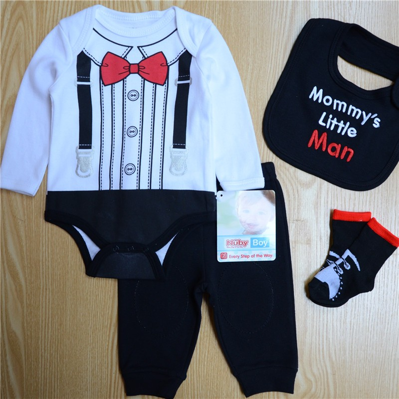 97cd1bc90375 Aliexpress.com   Buy Baby Boys Clothes Sets Autumn Baby suit ...