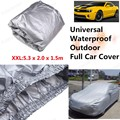 2016 nueva cubierta exterior resistente a los arañazos Anti UV lluvia dom polvo nieve resistente Protector de la cubierta impermeable a prueba de polvo para tipo de coche