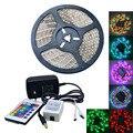 Impermeável 35 W 300-5050 SMD LED RGB Faixa de Luz w/controle Remoto (AC 110-240 V/Plugue DA UE)