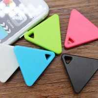 Dreieck Bluetooth Tag Monitor Schlüssel Brieftasche Pet Kind Anti Verloren Finder Locator 2 Möglichkeiten Alarm Neue Stellungs