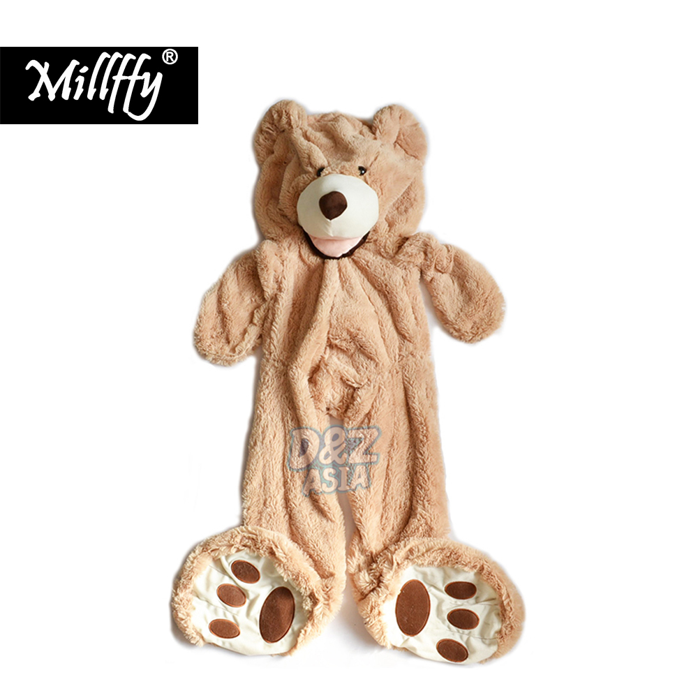 Wedding Toy Big Size 200cm American Giant Bear Skin ,Teddy Bear Coat ,Good Quality Factary Price Soft Toys For Girls 2018 high quality 200cm giant teddy bear