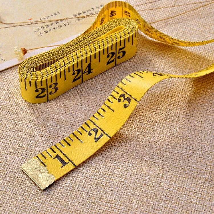 300 см Гибкая Полезная рулетка для измерения размеров тела, швейная лента, мерная мягкая швейная линейка, 120 дюймов, измерительная лента для ш...