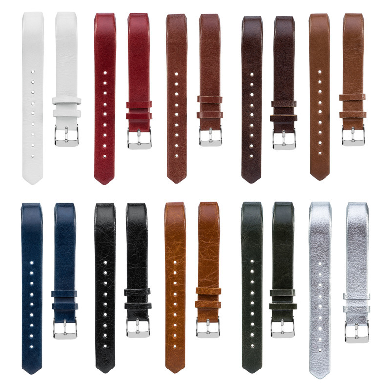 Strap Wristband Replacement Leather Bands Compatible For Fitbit Alta/Alta HR Classic Genuine 1EH