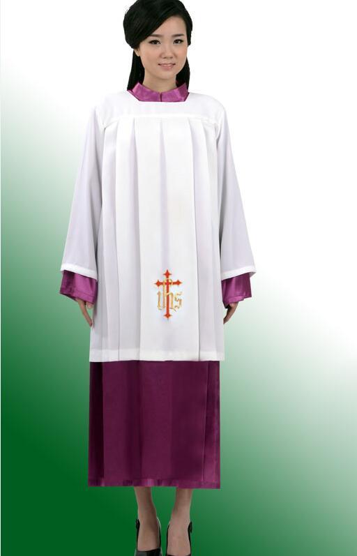 Europski standard Visoka kvaliteta Vatikanski crkveni ritual haljina - Nacionalna odjeća - Foto 5