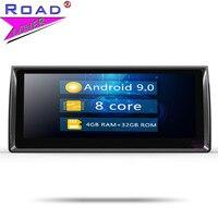 Roadlover Android 9,0 автомобильный мультимедийный плеер для BMW X5 M5 E39 1995 2003 E53 (2000 2007) Стерео gps навигация Радио 2 Din без DVD