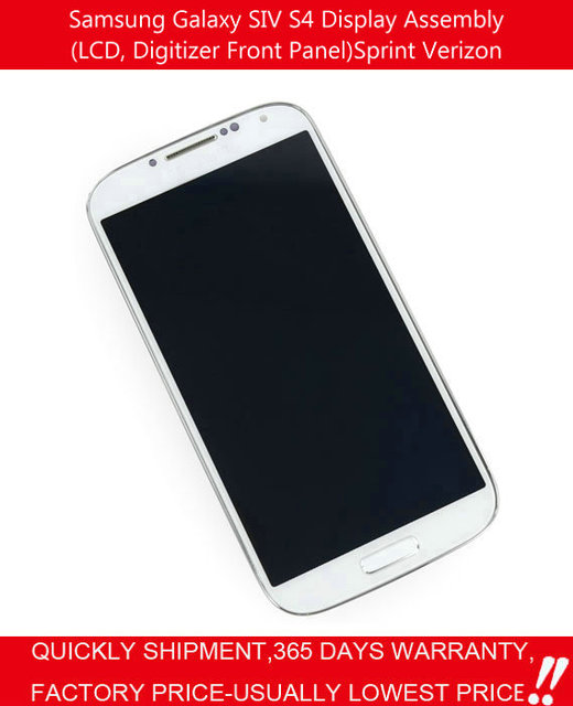 US $74 69 |100% OEM newfor Samsung Galaxy S4 Sprint Verizon SCH R970 SCH  I545 LCD Screen Display Front Panel With Digitizer Assembly-in Mobile Phone