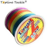 4 brins pêche ligne tressée pour la pêche multicolore 300m PE ligne 100m 0.3mm mouche carpe ligne de pêche tressée 100lb pour l'eau douce