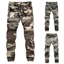 New2018 Mens Camouflage relaxation Trousers Fitness Jogger Ankle Banded Pants(China)