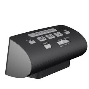 Image 3 - BALDR Digitale Dutje Timer Wekker Snelle Instelling LCD Temperatuur Display Desktop Tafel Klokken Witte Achtergrondverlichting Thermometer