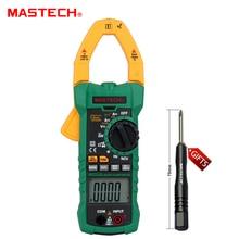 MASTECH ms2115a Цифровой DC/AC клещи Напряжение Ток Сопротивление Емкость тестер True RMS