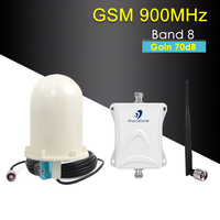 GSM Repeater 900MHz Cellular Signal Amplifier 70dB Band 8 Mobile Signal Repeater umts 900 GSM amplifier Cellphone Signal Booster
