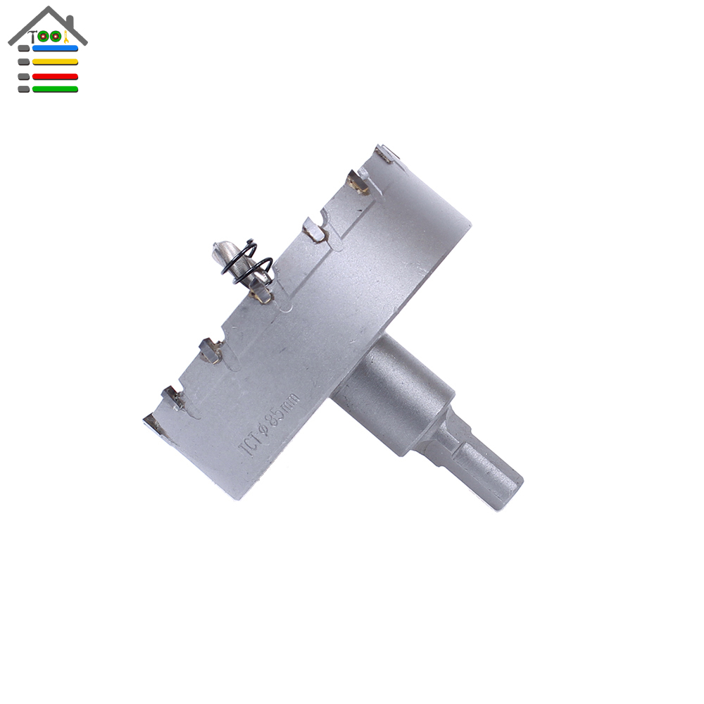 High Quality New 85mm TCT Drill Bit Carbide Tip Stainless Steel Hole Saw Set for Metal Alloy Drilling Core Cutter high quality 120mm stainless steel tct drill bit carbide tip fit hole saw set for metal alloy drilling core cutter big size