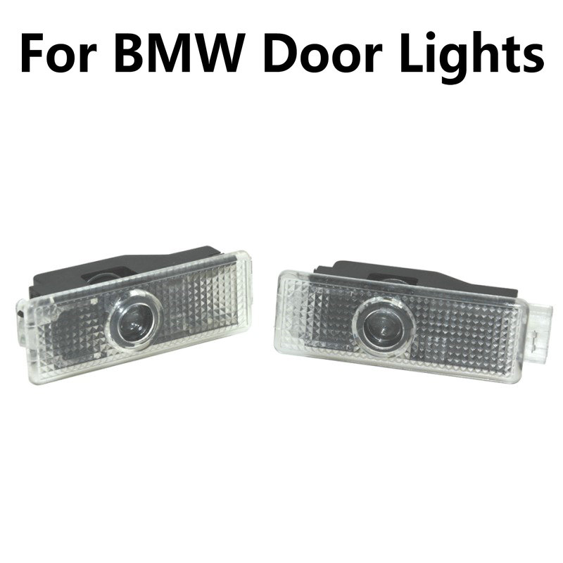 2X For BMW 3 5 7 Series E65 E66 F01 F02 E92 M3 E90 F10 F30 E60 M5 X1 X3 X4 X5 X6 Led Car Door Light Projector Logo Welcome Light