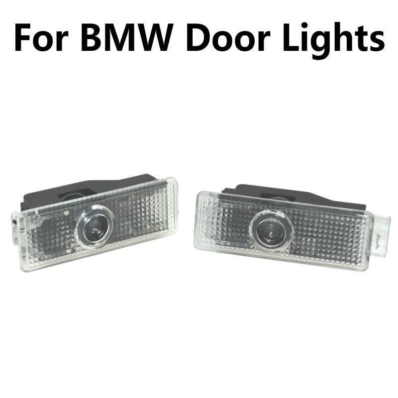 2X For BMW 3 5 7 Series E65 E66 F01 F02 E92 M3 E90 F10 F30 E60 M5 X1 X3 X4 X5 X6 Led Car Door Light Projector Logo Welcome Light