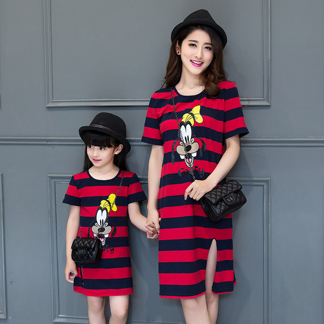 Family Matching Outfits Mother and Daughter Matching Dresses Family Clothing Mom and Daughter Matching Clothes Lace Dress DR86