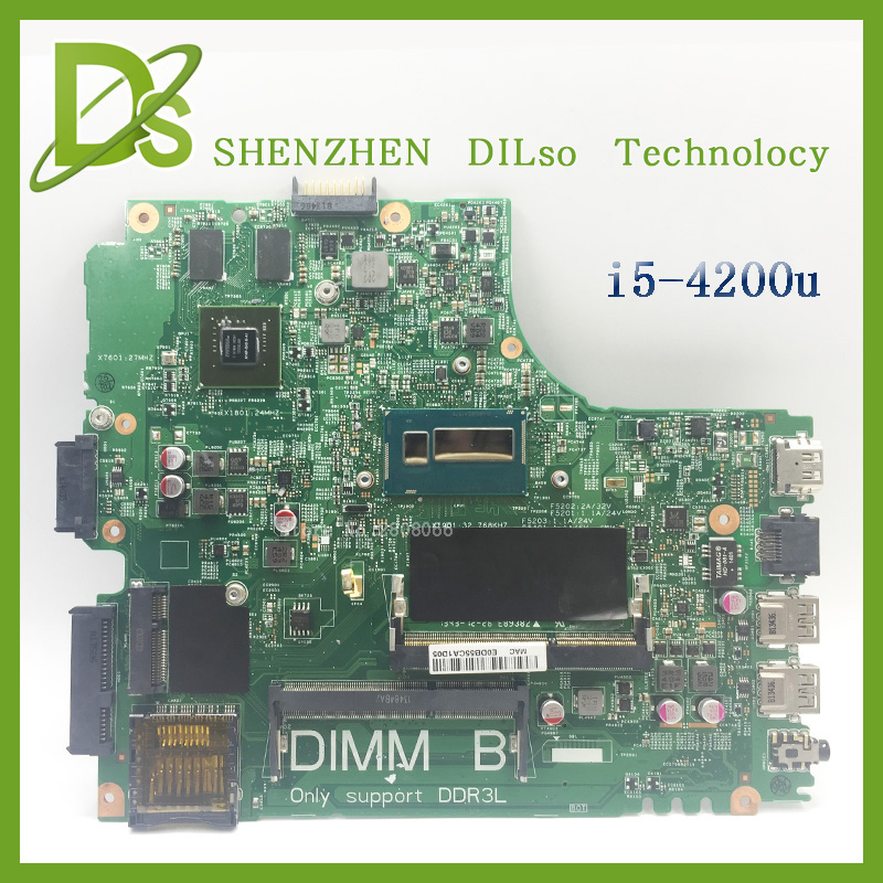 For Dell 5437 DELL 3437  MB12314-1 PWB:VF0MH REV:A00 laptop motherboard dell 5437 motherboard with  i5-4200u 100% tested pwb 1389 pwb 1389 1a 2311f good working tested
