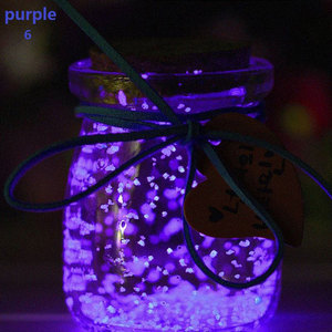 Image 5 - Pixco Photography Props 3Pcs Party Colorful DIY Fluorescent Super luminous Sand  Bright Glow Sand Glowing in the Dark Sand