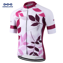 Eco-friendly Special Sublimation Women Pink Bicycle Wear Sport Lady Purple Bike Shirts Outdoor Female Girl Cycling Top Apparel