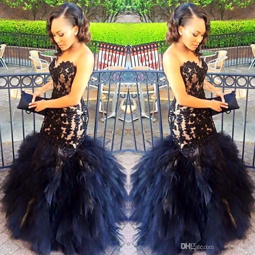2017 Puffy Tulle Tiered Long   Prom     Dresses   Sweetheart Appliques Zipper Gorgeous Sexy Fashion Mermaid Evening Party Gowns
