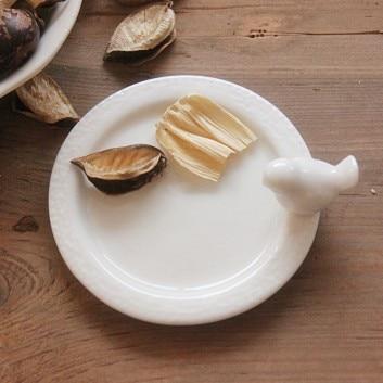 Европейский Керамика птица Подсвечник мини-птица Керамика плиты подсвечник наряд для фотосессий украшения дома подсвечник Керамика Craft