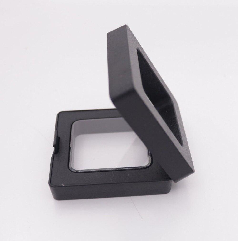 New Suspend In Midair Black Resin Ring Pendant Display Clear Holders 5X5cm 7X9mm 9X9cm 11X11cm 11X13cm Choose