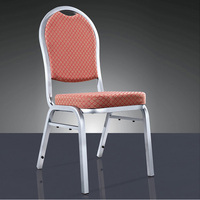 Quality Strong Metal Padded Stacking Chair LQ T8027