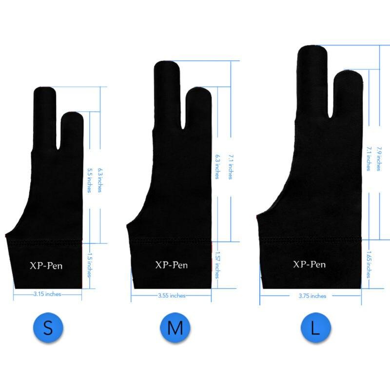Xp-stift Künstler Anti-fouling Handschuh Für Zeichnung Tablet/displayvlight Box/tracing Licht Pad Für Künstler Tablet S Größe Verschiedene Stile Computer-peripheriegeräte