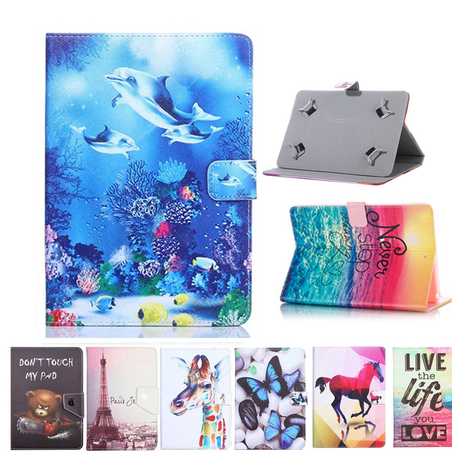 timeless design ca8be beaca Universal Cover For Alcatel One Touch Pixi 3 (10) 3G 9010x 10.1 inch Tablet  Printed PU Leather Stand Case-in Tablets & e-Books Case from Computer & ...