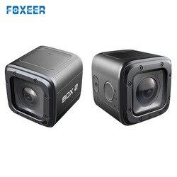 Foxeer Box 2 4 K 30Fps HD Cam 155 Gradi ND Filtro FOVD SuperVison FPV Macchina Fotografica di Azione Per APP Del Telefono micro Porta HDMI RC Drone