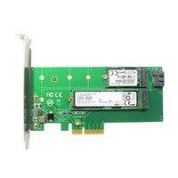 PCI E X4 To M 2 NVME SSD NGFF Convert Card B M Key Converter Adapter