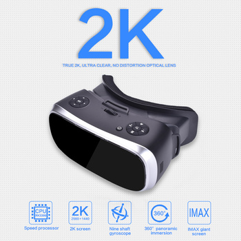3D Glasses Virtual PC Glasses Headset All In One VR For PS 4 Xbox 360/One 2 K HDMI Nibiru Android 5.1 Screen 2560*1440 P 1
