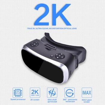 Óculos 3D Virtual PC Óculos Headset All In One VR Para PS 4 Xbox 360 / One 2 K HDMI Nibiru Android 5.1 Tela 2560 * 1440 P 1