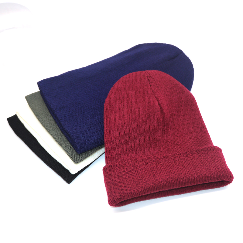 5pcs Winter Hat Beanies Solid Color Hat Unisex Warm Soft Beanie Knit Cap Winter Hats Knitted Touca Gorro Caps For Men Women Caps winter beanies solid color hat unisex warm soft beanie knit cap hats knitted touca gorro caps for men women