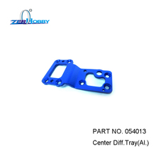 HSP RACING RC CAR SPARE PARTS ACCESSORIES 054013 CENTER DIFF. TRAY AL. FOR 1/5 GAS BAJA 94054 цена и фото
