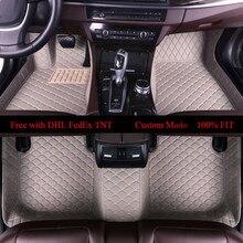 OLPAY Mat Leather Car Floor Mats For Mercedes Benz E300l E260l GLC260 GLE320 GLA220 Custom Auto Foot Pad Automobile Carpet Cover