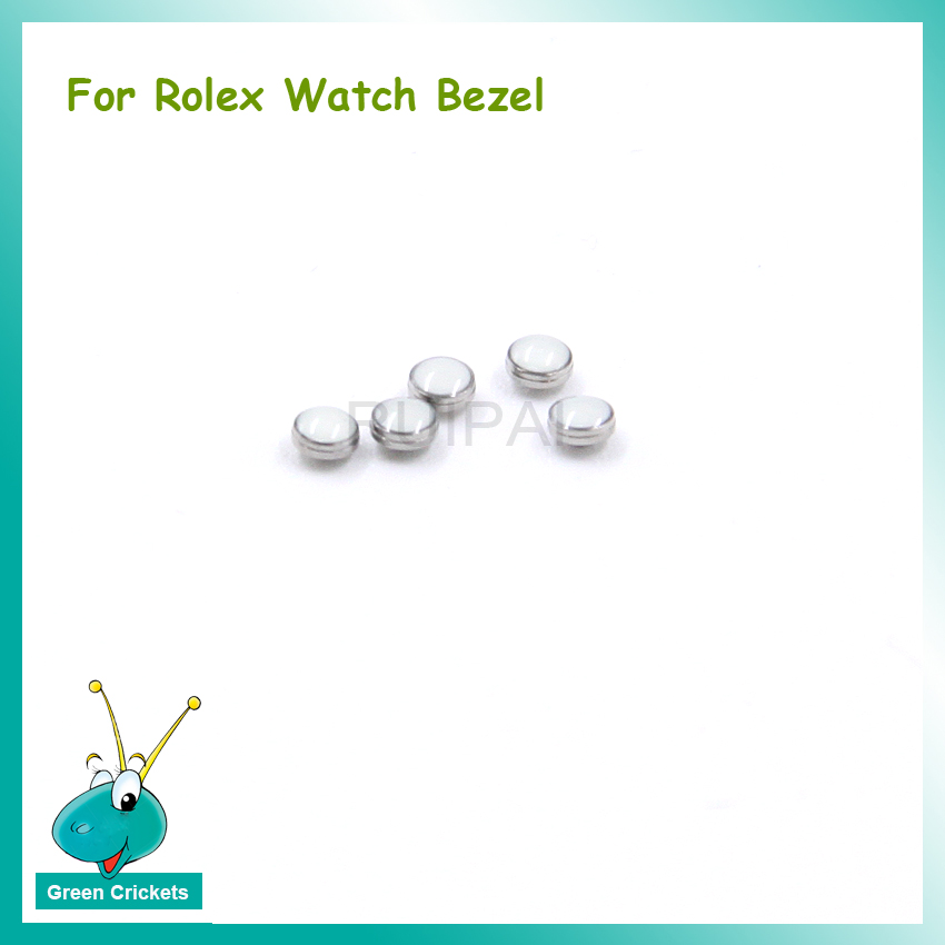 Watch Bezel Luminous Pearl Replacement Parts,Green / Blue Luminescence Ceramics Watch Bezel Parts For Rlx Watch Bezel