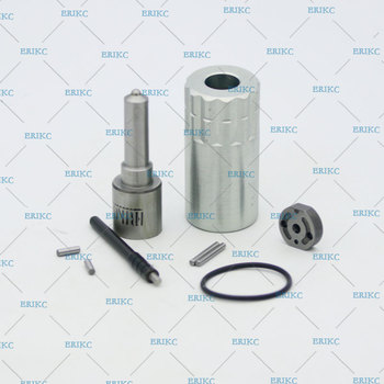ERIKC 095000-636# Fuel Injector DLLA158P1092 Nozzle Valve 19# Plate 095000-534# Overhaul Repair Kits Diesel CR for 4HK1/6HK1