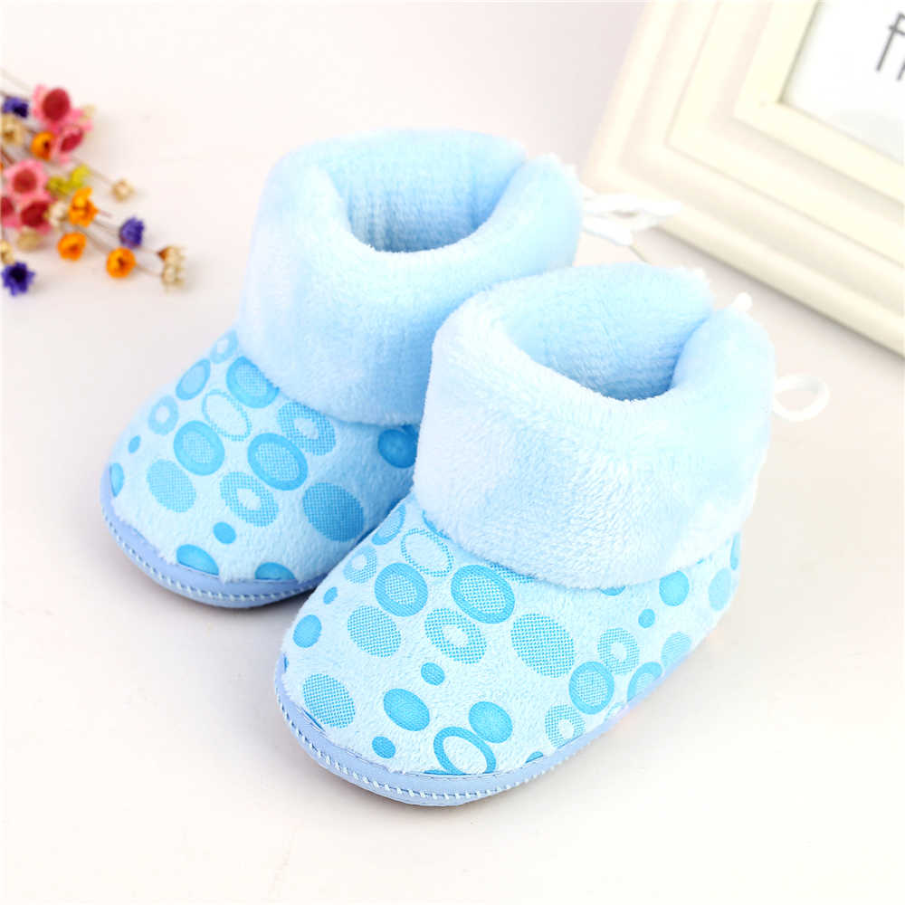 Winter Baby Shoes Boots Infants Warm Shoes Girls Baby Booties Sheepskin Genuine Leather Boy Boots Newborns