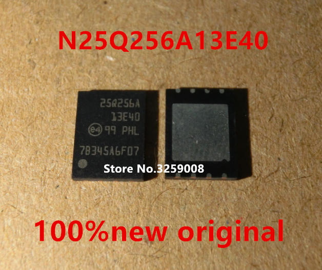 25Q256A N25Q256A13E40  100% new imported original 5PCS/10PCS 25 13