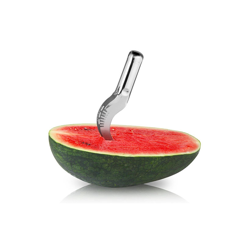 1 PCS party supply Stainless Steel Cut Fruit Watermelon Cutter Fast Slicer Smart Kitchen Cutting Tool Scoop Corer Server in Shredders Slicers from Home Garden
