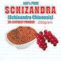 100% PURO SCHIZANDRA (SCHISANDRA CHINENSIS) 20:1 EXTRATO EM PÓ de 250 gramas 8.8 oz