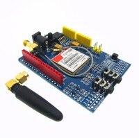 Free Shipping 1PCS LOT SIM900 GPRS GSM Shield Development Board High Quality