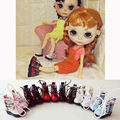 1 Pair 1/6 Cool Martin Boots Blyth Doll Shoes for Pullip Licca Lati Barbies Doll