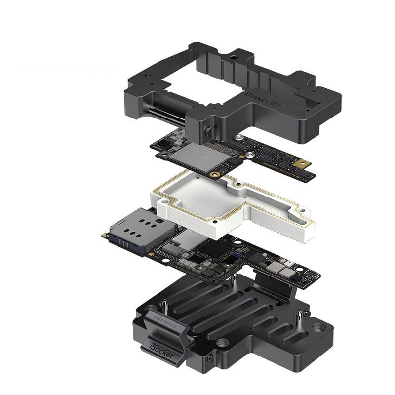 Aletler'ten Alet Parçaları'de Yeni iPhone X anakart iSocket Test fikstürü mantık kurulu teşhis Test tamir araçları lehimleme olmadan title=