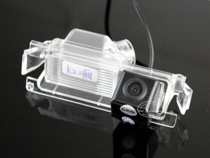 Liislee для KIA Rio/K2/гордость хэтчбек-зеркало заднего вида Камера/Резервное копирование парк Камера/CCD RCA NTST PAL/номерной знак свет