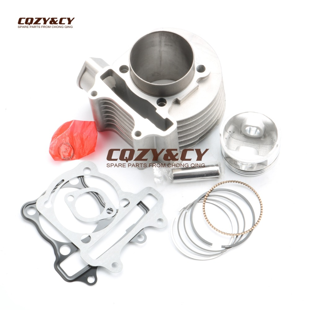 200cc 63mm Big Bore Cylinder Kit for 150cc GY6 157QMJ Chinese Scooters ATVS